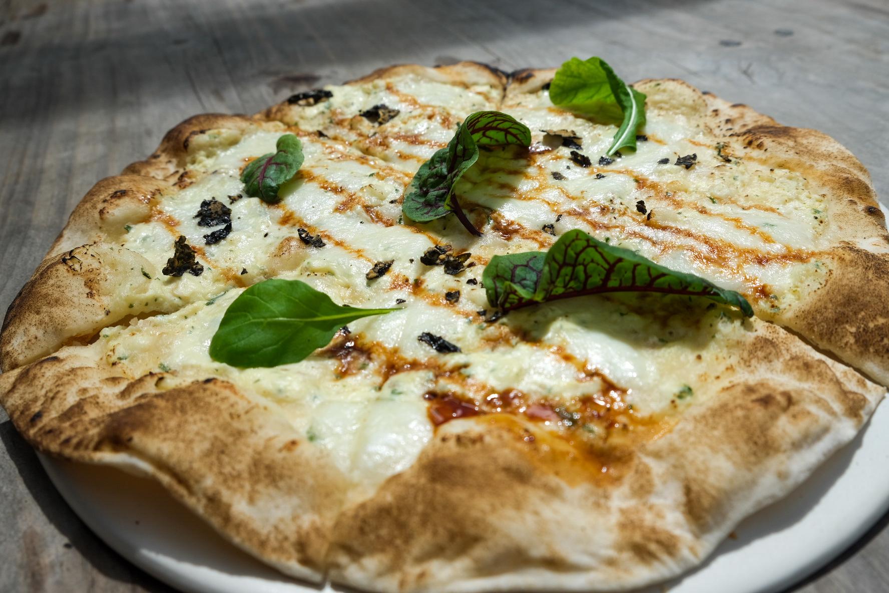 Carabao Cheese and Garlic Pizza P590