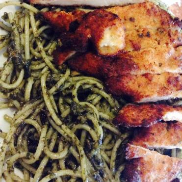 Nut Pesto with Chicken