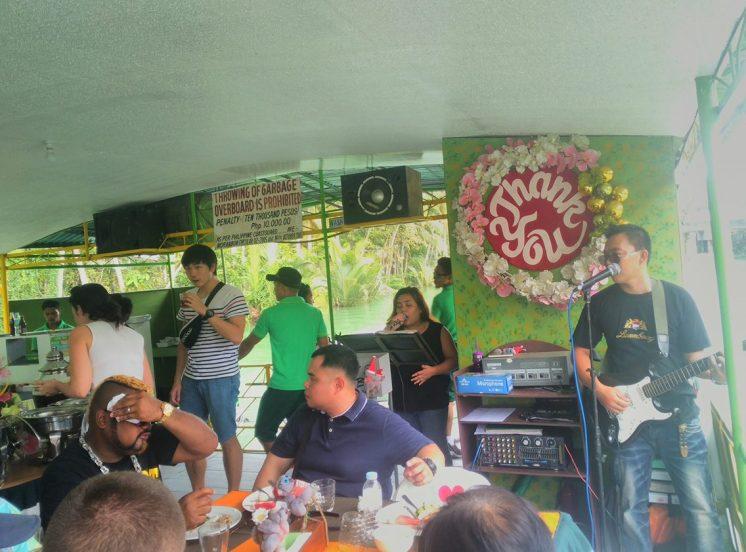 2-man band at the back